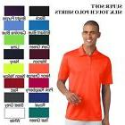 Port Authority K540 Mens Dri SIlk touch FIT Polo Golf FREE C