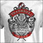 Kraken Dive Amphibious style Mens White T-shirt ~ NEW!  S M