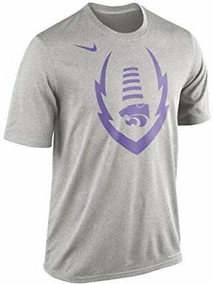 Nike KSU Kansas State Wildcats College Icon Legend Football