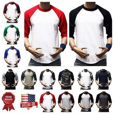 Men's T-Shirt Crew Fashion Sports Jersey
