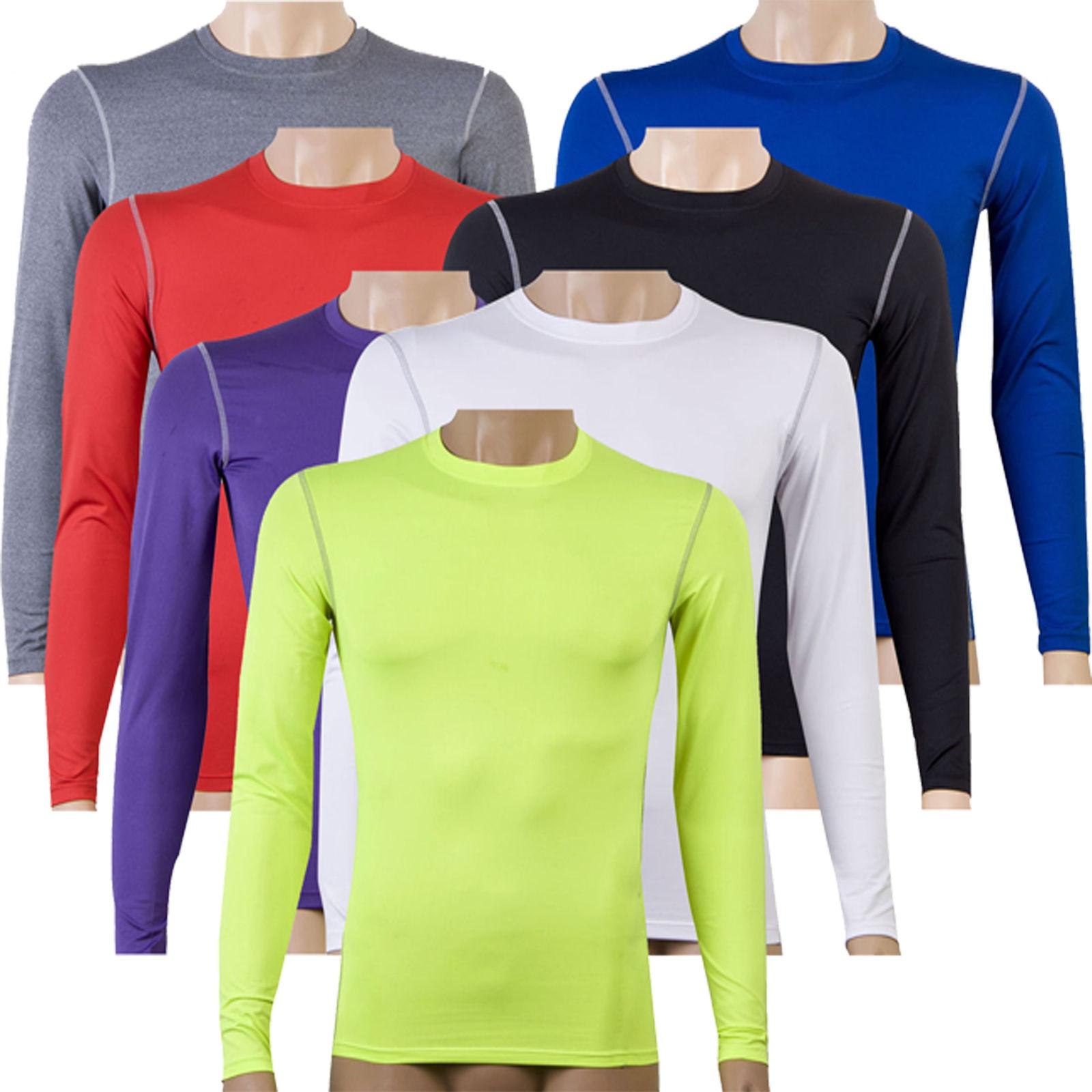 Mens Compression Base Top Thermal Tee