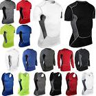 Men Tshirt Compression Under Skin Base Layer Athletic Appare