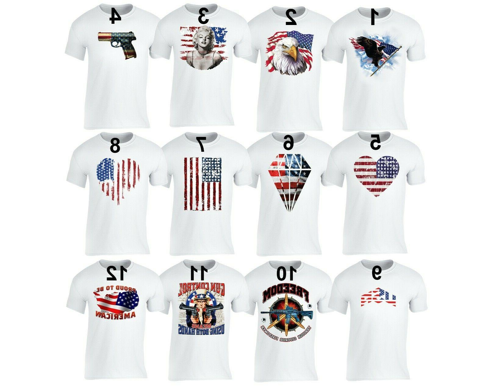 men s american flag distressed 4th of