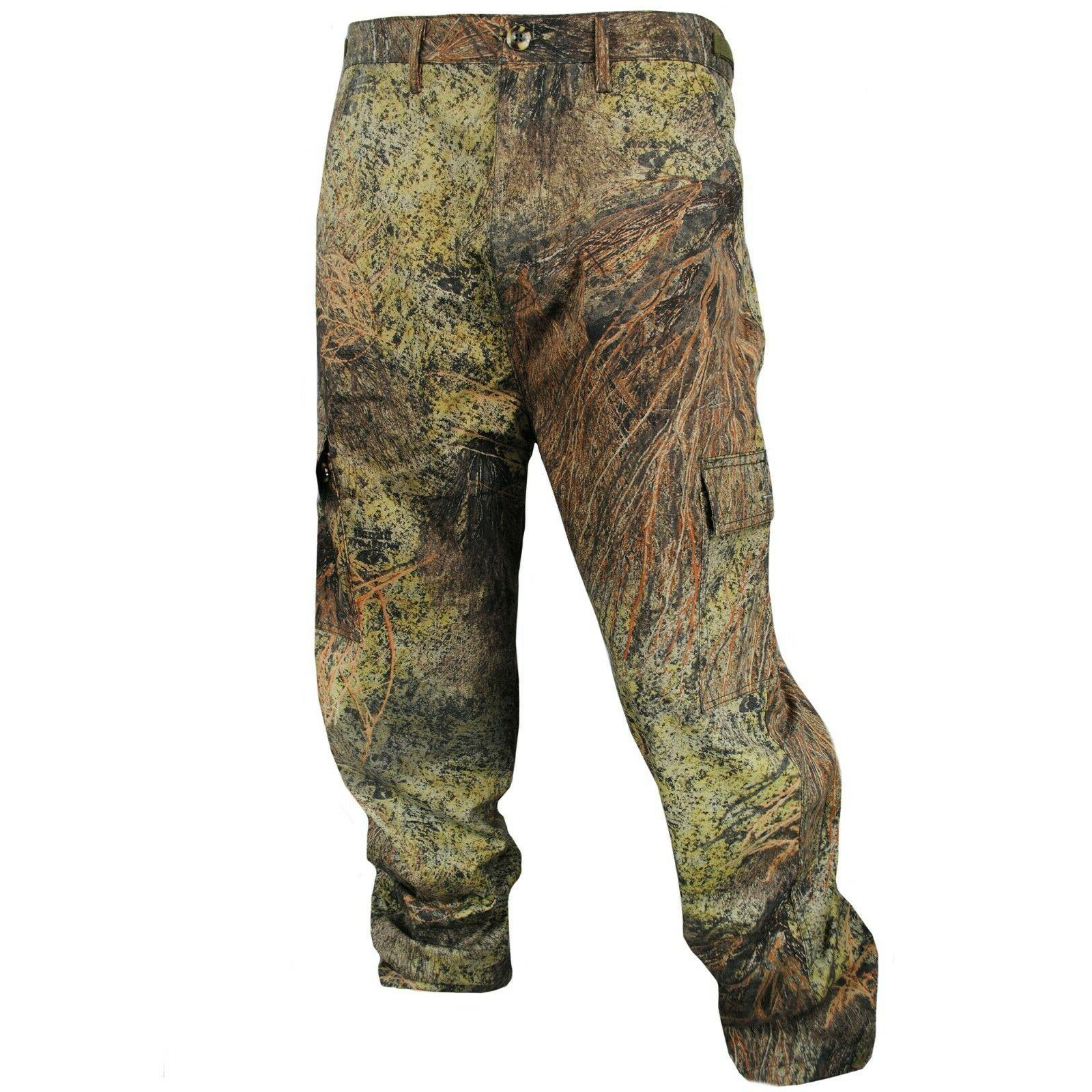 men s cotton mill camo hunt pant