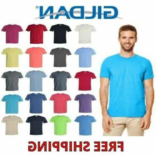 men s cotton short sleeve softstyle t