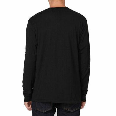 Volcom Men's Deadly Long T Black Apparel