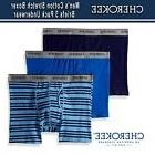 Cherokee Men's Men's Cotton Stretch Boxer Briefs 3 Pack Unde