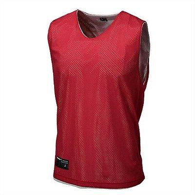 men s reversible tanks red work out