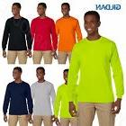 Gildan Men's Ultra Heavy Cotton 6 oz Long Sleeve S-XL Pocket