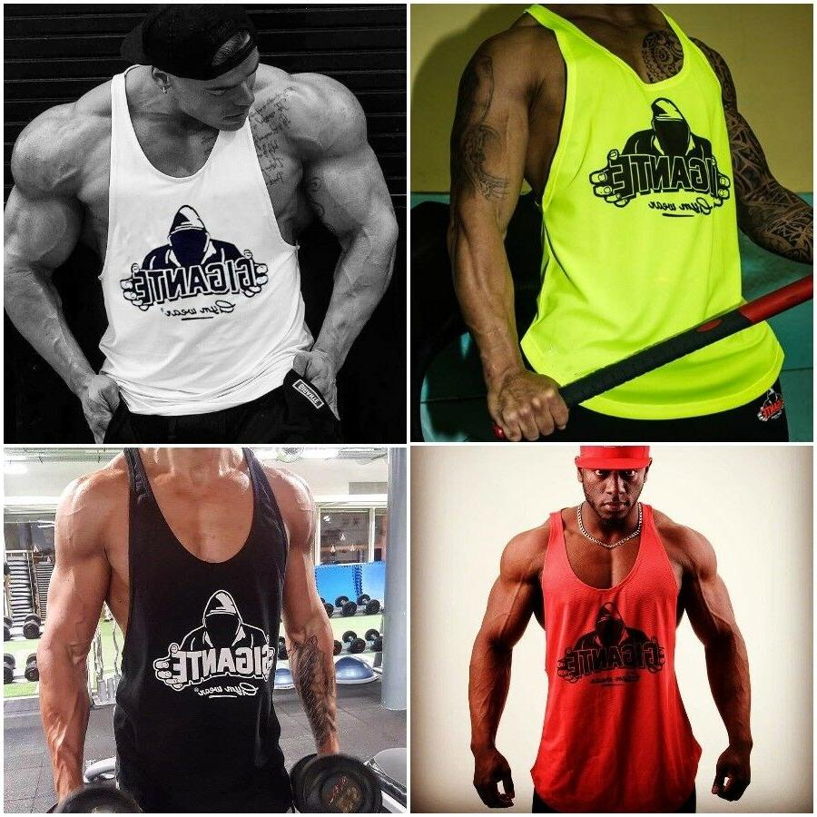 men sports tank top clothing and fitness