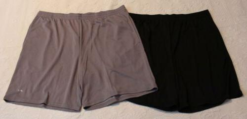 mens 2 pack loose fit performance shorts