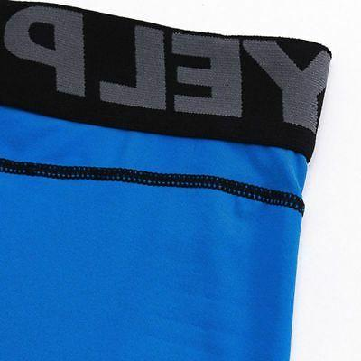 Mens Apparel Sports Compression Base Layer Fitness
