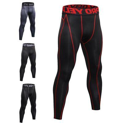 Mens Apparel Sports Compression Under Layer Fitness