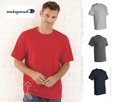 Champion Mens Sleeve 6 Cotton T Shirt T425