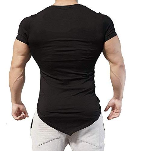 Coofandy Mens Training Short Sleeve Workout Fitness T XX-Large,