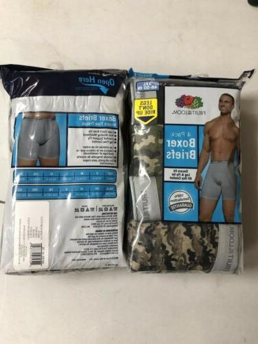 Fruit Of The Mens Camouflage Briefs Tag Free 100% Cotton