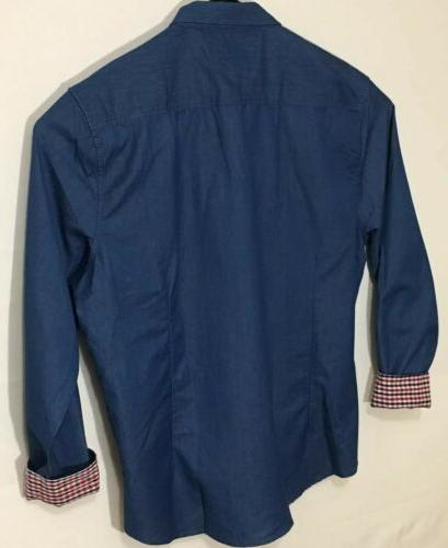 Coofandy Mens 3XL Dress Button Sky Sleeve