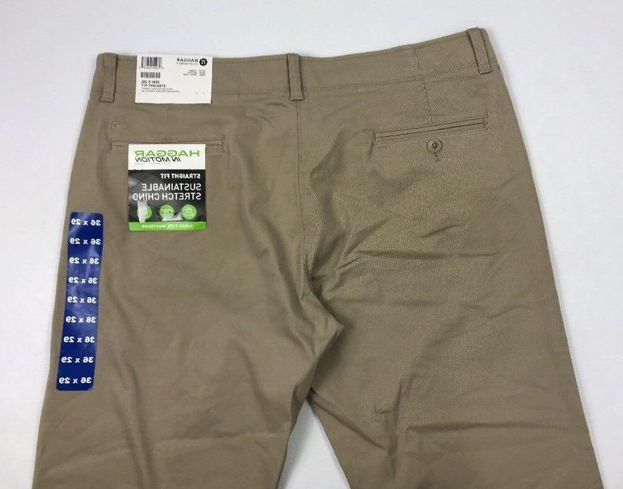 Haggar Sustainable Stretch Straight Fit Pants