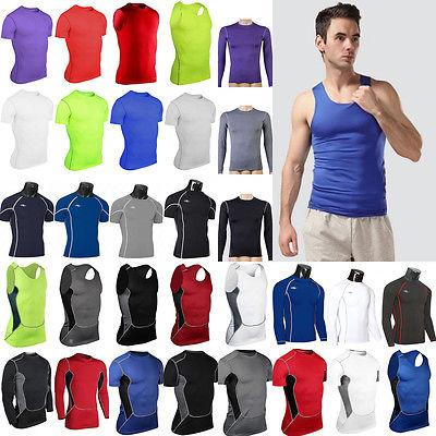 Mens Compression Base Layer Gym