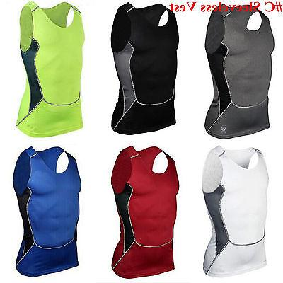 Mens Compression Base Layer Gym Sports