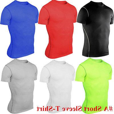 Mens Base Layer Tight Gym
