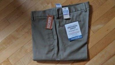 Dockers Khakis The Pressed Tapered Size W38 L32 Beige