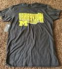 Knights Apparel Men's Michigan Wolverines Shirt Large L  L