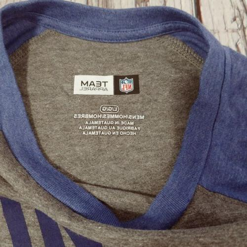 NFL Team New Giants Long Sleeve Reg p