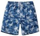 MaaMgic Mens Quick Dry Tropical Palm Tree Swim Trunks W/ Mes