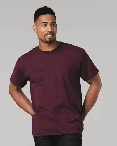 Gildan Short Blank Ultra Cotton TShirt with Pocket 2300 S-5XL