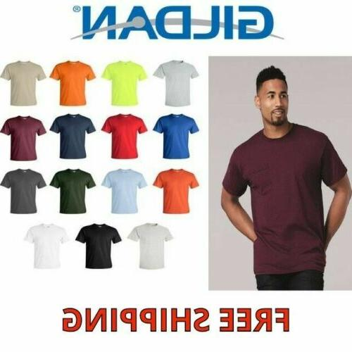 mens short sleeve blank ultra cotton tshirt