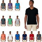 Gildan Mens Softstyle V-Neck T-Shirt S - 3XL 10 New Colors S