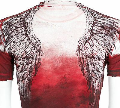 AFFLICTION Mens Angel Motorcycle Biker