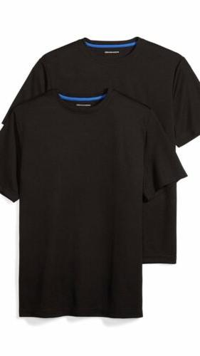 mens t shirts performance wear 2 pack