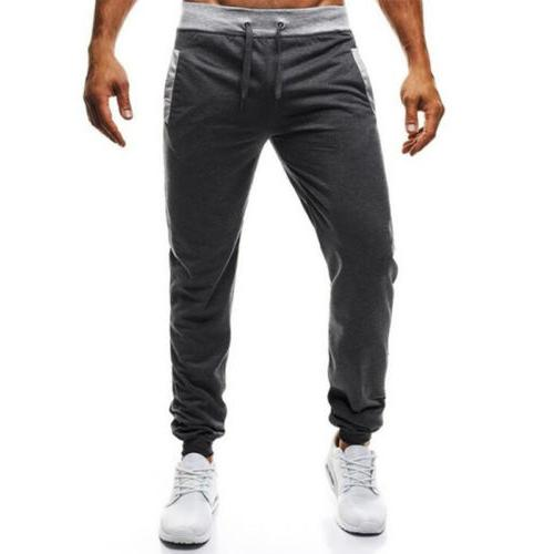 Mens Pants Gym Sports Casual Apparel