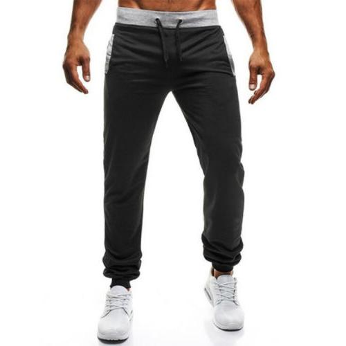 Mens Fitness Pants Gym Sports Activewear Casual Trousers