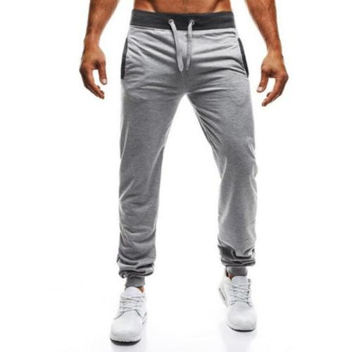 Mens Fitness Pants Sports Activewear Casual Trousers