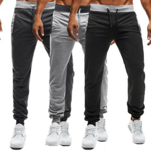 Mens Fitness Pants Sports Casual Trousers Apparel
