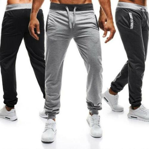 mens training fitness sweat pants gym sports