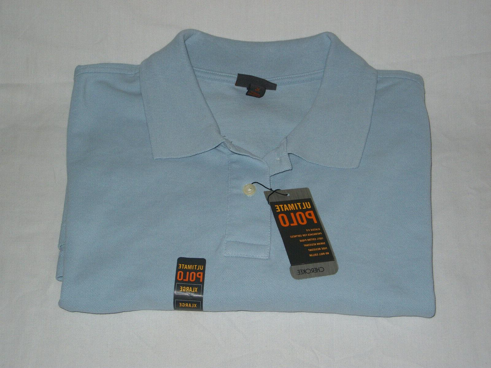 Cherokee Polo Short Sleeve Shirt Light
