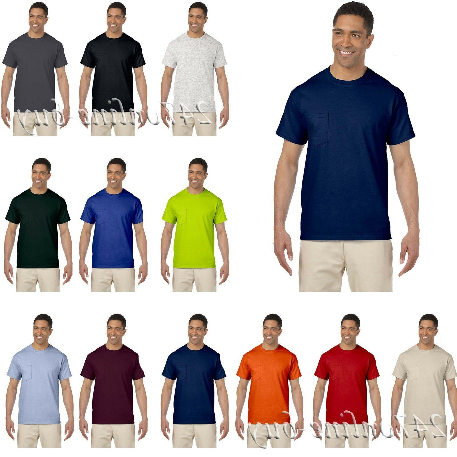 mens ultra cotton t shirt with a