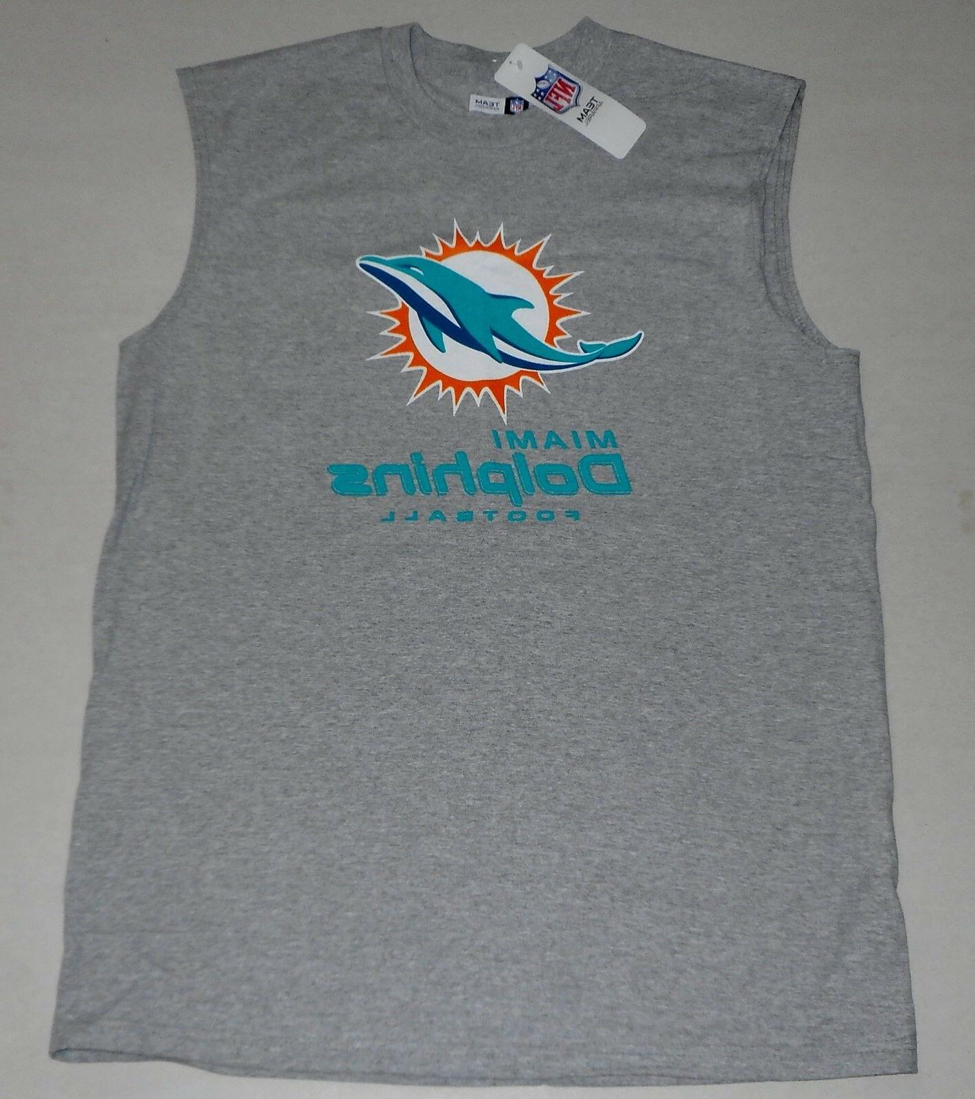 miami dolphins muscle t shirt tank top