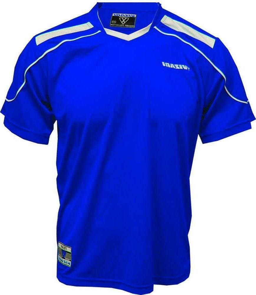 Vizari Monaco Jersey, Royal, Adult Small