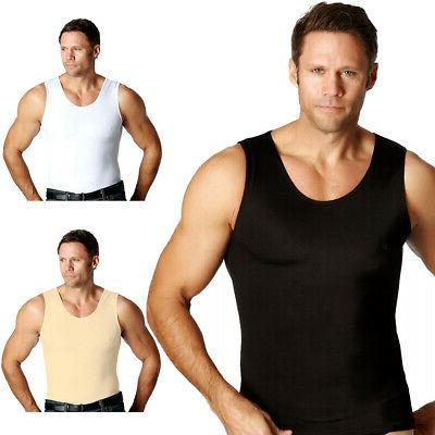 muscle tank firming compression slimming under shirt