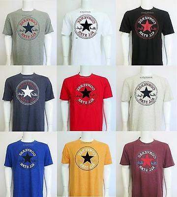 NEW CONVERSE All Star Chuck Taylor Crew Neck T Shirts Sizes
