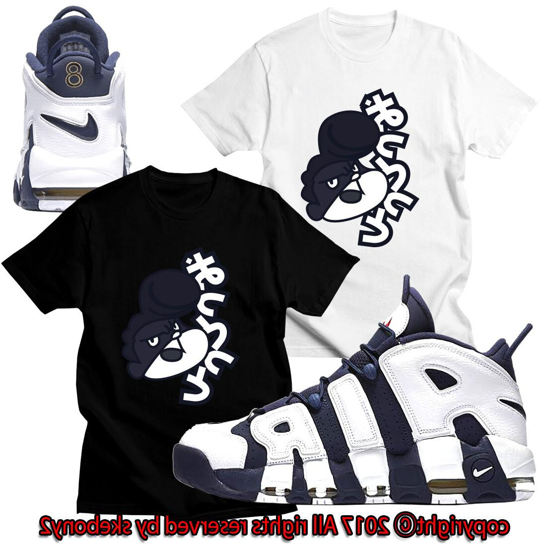 new custom tee nike air more uptempo