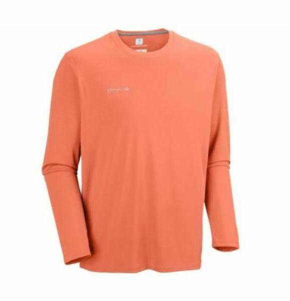 NEW Columbia Men's Zero Shirt, Bright Peach, 4X