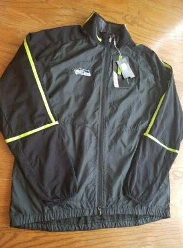 nwt men s large seahawks wind full