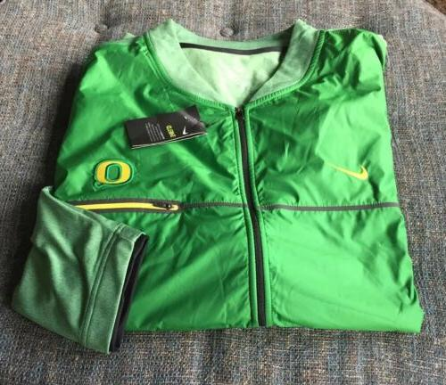 nwt shield oregon ducks full zip jacket