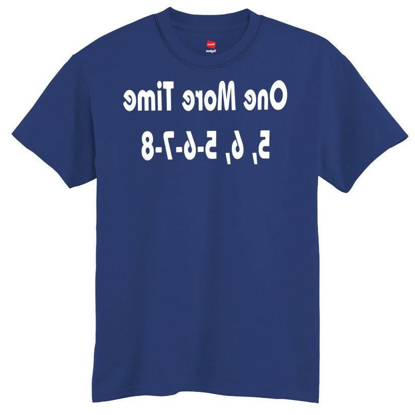 One More 6, 5-6-7-8 T-Shirt --- Band Field Horns